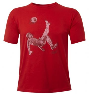 Pele Star Bike Kick tee